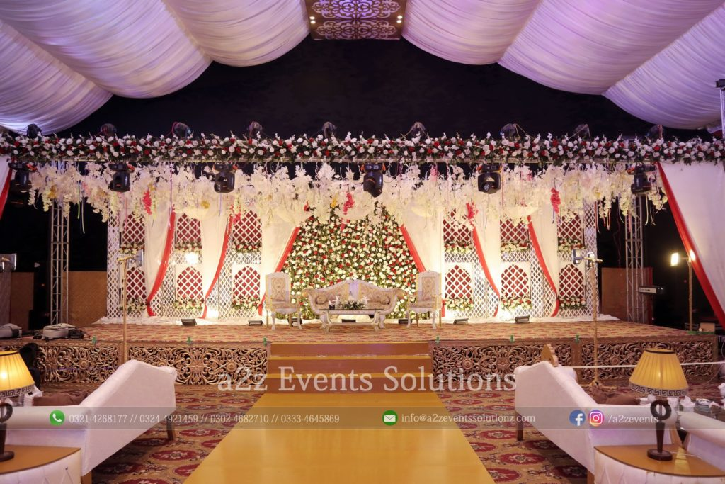 walima stage, wedding stages designers in lahore