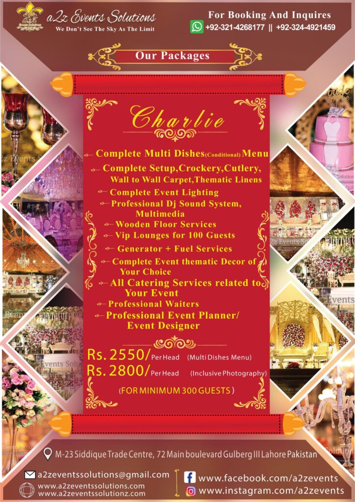 wedding planner, wedding planner prices, wedding designer. event management company, wedding packages with multi dishes