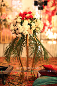 imported and fresh flowers decor, a2z events solutions management