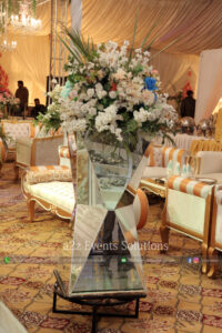 imported and fresh flowers decor, best catering company in lahore