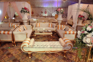 best caterers in lahore, vip grand walima setup
