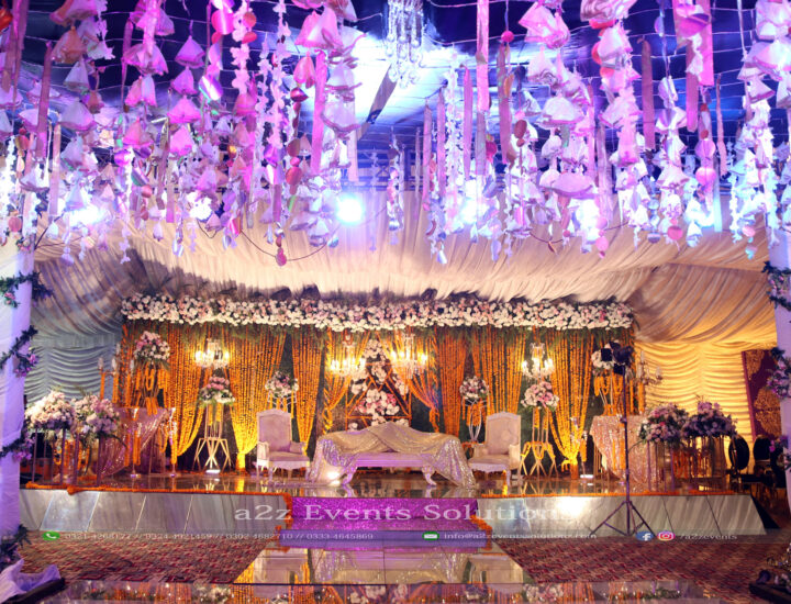 mehndi stage, grand stage